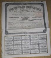 ACTION  COMPANHIA DE MOSSAMEDES 19.05.1926 - Actions & Titres
