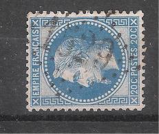 Empire Lauré N° 29 Obl GC 1529 De FLORENSAC , Hérault , TB - 1863-1870 Napoléon III Lauré