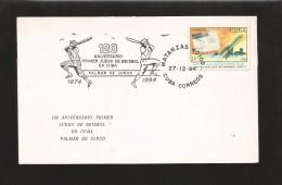 E)1974 CUBA, COSMONAUTICS DAY, POST ROCKETS, PRECURSORS II, 120TH ANNIV. OF THE FIST BASEBALL GAME IN CUBA, MARCOPH - Sonstige