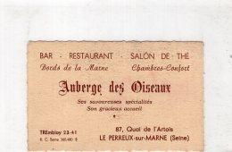 B24720 Le Perreux - Auberge Des Oiseaux - Non Classificati