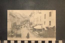 CP, 73, MONTMELIAN Rue Centrale  Edition E Reynaud Dos Simple Precurseur - Montmelian