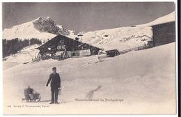 DAVOS: Winterlandschaft Tomaszewski 1908 - GR Grisons