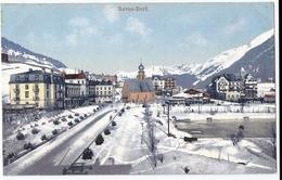 DAVOS-DORF: Winter, Eisplatz Tomaszewski ~1910 - GR Grisons