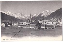 DAVOS: Aussenansicht Tomaszewski ~1910 - GR Grisons