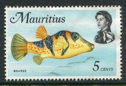 Mauritius 1969-73 Sealife - 5c Bourse Used (SG 385) - Mauritius (...-1967)