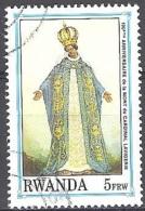 Rwanda 1992 Michel 1450 O Cote (2005) 2.50 Euro Madonna Cachet Rond - Rwanda