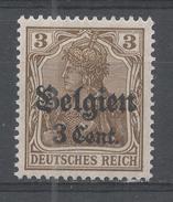 Belgium, German Occupation 1916, Scott #N11 (MH) Germania - Zone Belge