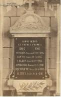 HARCHIES : La Plaque Commémorative - Edition Imprimeur C. Marlot - Bernissart