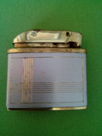 """RR RARE AUTOMATIC CONSUL CROWN SUPER FILL GAS LIGHTER 1960""""S GERMANY GOLD PLATED - Autres"""