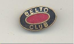 """AALST - ALOST - Epingle Du """" BELTO CLUB """" (VDI) - Publicité"""