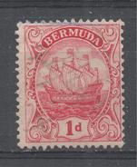 Bermuda 1910. Scott #42 (U) Caravel - Bermudes