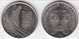 **** 5 FRANCS 1989 TOUR EIFFEL **** EN ACHAT IMMEDIAT !!! - France