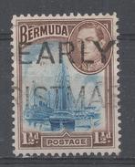Bermuda 1943, Scott #119a Hamilton Harbor (U) - Bermudes