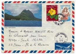 POLYNESIE FRANCAISE - 4 Enveloppes 1979 - 1998 - 2002 - Affranchissements Divers - Polinesia Francesa
