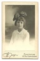 Algerie, Constantine, Photo: E. Juge, (marqué) Refugiee  Chez.....en 1914, M.louise Scharff, Pont A Mousson + Coiffe. - Photos