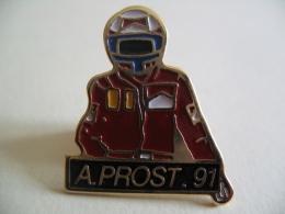Pin's - 071 - Pilote Automobile Formule 1 - Alain PROST.91 - Automobile - F1