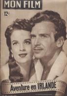 """Mon Film/Périodique/""""Aventure En Irlande""""/ Pierson/Universal/Douglas Fairbanks Jr/ H Carter/Cécile Aubry /1949   CIN66 - Cinéma/Télévision"""