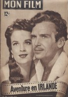 "Mon Film/Périodique/""Aventure En Irlande""/ Pierson/Universal/Douglas Fairbanks Jr/ H Carter/Cécile Aubry /1949   CIN66 - Cine / Televisión"