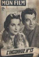 """Mon Film/Périodique/""""L´Inconnue N° 13""""/Paulin/Francinalp/René Dary/Marcelle Derrien/Sabu/1950  CIN68 - Cinéma/Télévision"""