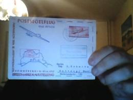 Postsegelflug Von Meiningen Nach Bottrop! 8.9.1957! - Briefe U. Dokumente