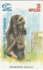 ANGOLA(chip) - Rapariga Muila, First Issue 30 Units, Used
