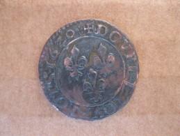Double Tournois Juvénile 1620 R (Villeneuve) Louis XIII, Inédit - 987-1789 Royal