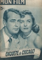 """Mon Film/Périodique/""""Enquête à Chicago""""/Allen /Paramount/Alan Lad/Donna Reed/Gaby Andreu/1951  CIN70 - Cinéma/Télévision"""