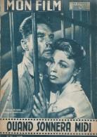 "Mon Film/Périodique/""Quand Sonnera Midi""/Gréville /Sigma/Dany Robin/Georges Marchal/Joan Collins 1958  CIN71 - Cine / Televisión"