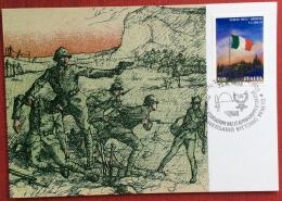 1998 TARVISIO CITTA´ 80° ANNIVERSARIO VITTORIO VENETO / 72° ANNIV ASSOCIAZ NAZ.LE ALPINI GRUPPO TARVISIO/ Battaglia - Guerre 1914-18