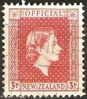 Nouvelle Zélande - 1954 - Elizabeth II - YT Service 118 Oblitéré - Officials