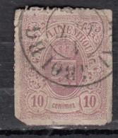 Luxembourg YT N°17a  10c Mauve - 1859-1880 Wappen & Heraldik