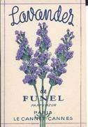 CARTE PARFUMEE LAVANDES DE FUNEL - LE CANNET - CANNES - Antiquariat (bis 1960)