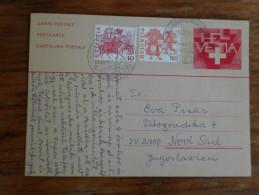 Helvetia 1981 - Lettres & Documents