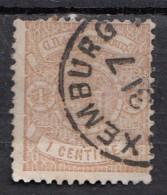 Luxembourg YT N°26  1c Brun Clair - 1859-1880 Wappen & Heraldik