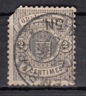 Luxembourg YT N°27   2c Noir - 1859-1880 Wappen & Heraldik