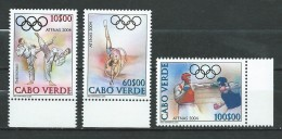Cape Verde.Cabo Verde.2004 Olympic Games - Athens, Greece.MNH - Cap Vert