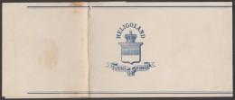 Allemagne Heligoland 1878. Bande-journal. Blason, Couronne - Enveloppes