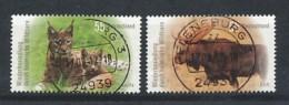 GERMANY  Mi.Nr. 2913-2914 Wiederbesiedlung Durch Heimische Wildtiere- Used - Gebraucht