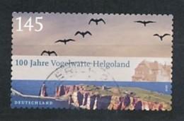 GERMANY  Mi.Nr. 2793 100 Jahre Vogelwarte Helgoland - Used - BRD