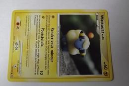 Carte Pokemon 2009 Wattouat  Niv.13 PV60  82/127 - Pokemon