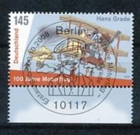 GERMANY  Mi.Nr. 2698 100 Jahre Motorflug In Deutschland - Used - BRD