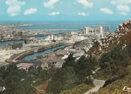 """CHERBOURG (50) Vue Sur Les Rampes De La """"Montagne Du Roule"""", Les Bassins Et La Rade - Cherbourg"""
