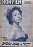 """Mon Film/Périodique/""""Affaire Ultra Secrête""""/Potter/Warner Bros/Susan Hayward/Kirk Douglas/Famille Trapp/1958 CIN78 - Cinéma/Télévision"""