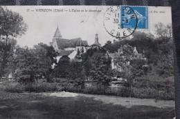 ZZ - 18 - VIERZON - L´église Et Le Déversoir - Vierzon