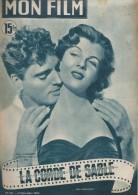 """Mon Film/Périodique/""""La Corde De Sable""""/Dieterle/Paramount/Burt Lancaster / Corinne Calvet/Famille Trapp/1950 CIN79 - Cinéma/Télévision"""