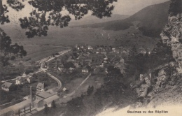 Ce Si Joli Petit Village De Baulmes Vu Des Râpilles En 1911 / Avec Timbres 125 II - VD Vaud
