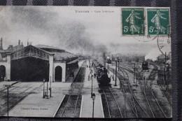 ZZ - 18 - VIERZON  - Gare Interieure - Vue De La Gare De Triage - Trains Vapeur - Vierzon