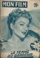"""Mon Film/Périodique/""""La Femme Au Gardénia""""/Fritz Lang/WarnerBros/Anne Baxter//Michéle Morgan/Gérard Philippe/1954  CIN80 - Cinéma/Télévision"""