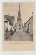 CPA TOURS SUR MARNE (Marne) - L'église - Autres Communes