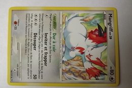 Carte Pokemon 2009  Mangriff  Niv.29 PV80  66/127 - Pokemon